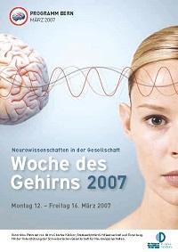 """Programm """"Woche des Gehirns 2007"""""""